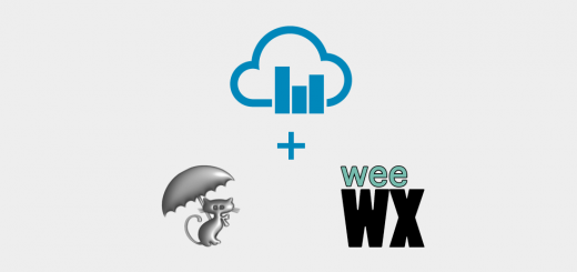 WeatherCat and WeeWX Now Supported!
