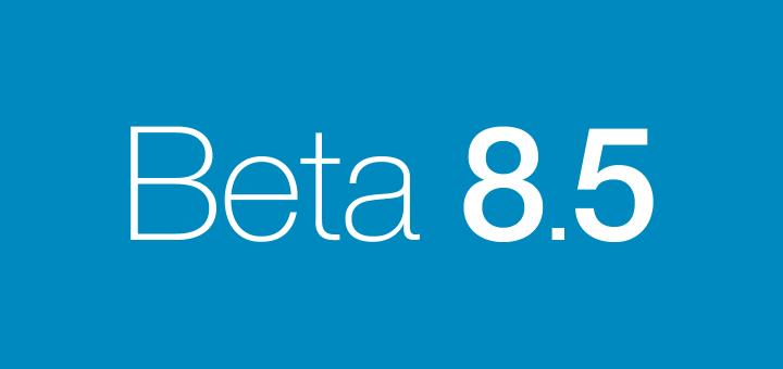 Beta 8.5
